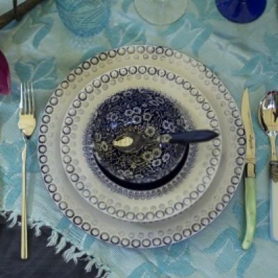 Tafelmanieren, tafel decoratie